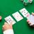 poker · el · iskambil · kartları · yeşil · kumarhane · bez - stok fotoğraf © dolgachov