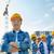 csoport · építők · építkezés · üzlet · épület · csapatmunka - stock fotó © dolgachov