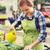 nő · gondoskodó · növények · gyönyörű · fiatal · nő · tavasz - stock fotó © dolgachov