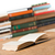 scaffale · pattern · senza · soluzione · di · continuità · colorato · libro - foto d'archivio © donatas1205