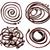 chocolade · chocoladestroop · geïsoleerd · witte · textuur · abstract - stockfoto © donatas1205