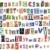 giornale · alfabeto · lettere · numeri · simboli · isolato - foto d'archivio © donatas1205