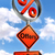 offers road sign with discount symbol stock photo © donskarpo