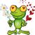 sapo · príncipe · desenho · animado · verde · isolado - foto stock © doomko