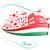 vector · pizza · bandera · italiana · alimentos · restaurante · verde - foto stock © doomko
