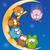 kleurrijk · uil · cute · vector · witte · kinderen - stockfoto © doomko