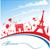 パリ · 有名な · シンボル · セット · コレクション · 旅行 - ストックフォト © doomko