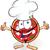 jókedv · pizza · rajz · kalap · hüvelykujj · felfelé - stock fotó © doomko