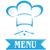 menü · kapak · dizayn · pizzacı · vektör · şablon - stok fotoğraf © doomko