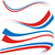 Franciaország · zászló · izolált · fehér · üzlet · háttér - stock fotó © doomko