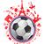 futballabda · Franciaország · szimbólum · szett · futball · sport - stock fotó © doomko