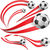 Peru · zászló · futballabda · textúra · futball · keret - stock fotó © doomko