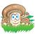 毒キノコ · 菌 · 漫画 · 実例 · 赤 · 毒 - ストックフォト © doomko
