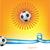 Argentine · pavillon · ballon · vecteur · monde · football - photo stock © doomko