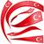 Törökország · szett · zászló · izolált · fehér · terv - stock fotó © doomko