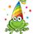 gelukkig · cartoon · gekko · illustratie · naar - stockfoto © doomko