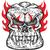 koponya · izolált · csontváz · fej · fehér · halál - stock fotó © doomko