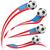 USA · zászló · szett · futballabda · futball · sport - stock fotó © doomko