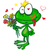 desenho · animado · príncipe · idéia · feliz · coroa · sorridente - foto stock © doomko