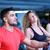 group of people running on treadmills stock photo © dotshock
