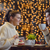 mutlu · çift · Noel · kek · gülümseyen · kadın · adam - stok fotoğraf © dotshock