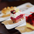 çikolata · kekler · karpuzu · üst · görmek · ahşap · masa - stok fotoğraf © dotshock