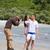 photographer taking photo on beach stock photo © dotshock