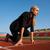 女性 · 開始 · 位置 · 実行 · 肖像 · スポーツ - ストックフォト © dotshock