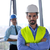 iş · adamları · mühendisler · toplantı · grup · tanıtım · parlak - stok fotoğraf © dotshock