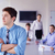 zakenman · vergadering · collega's · portret · knap · jonge - stockfoto © dotshock