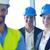 iş · adamları · inşaat · mühendisler · toplantı · grup · tanıtım - stok fotoğraf © dotshock