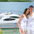 young couple on yacht stock photo © dotshock