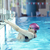 happy child on swimming pool stock photo © dotshock