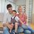 幸せ · 小さな · 家族 · 幸せな家族 · 母親 - ストックフォト © dotshock