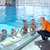 happy children group at swimming pool stock photo © dotshock