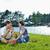 picnic · parco · donna · natura · panorama - foto d'archivio © dotshock