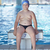 kicsi · fiú · úszómedence · védőszemüveg · kék · portré - stock fotó © dotshock