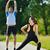 Coppia · esercizio · jogging · giovani · salute - foto d'archivio © dotshock