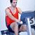 человека · работает · бегущая · дорожка · спортзал · здоровья · мужчин - Сток-фото © dotshock