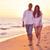 strand · leuk · gelukkig · jonge · romantische - stockfoto © dotshock