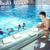 glücklich · Kinder · Gruppe · Schwimmbad · Kinder · Klasse - stock foto © dotshock