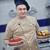 kucharz · ciasto · kuchnia · ręce · restauracji · zielone - zdjęcia stock © dotshock