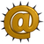email symbol with prickles on white background  3d illustration stock photo © drizzd