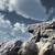szám · harminc · öt · kő · felhős · kék · ég - stock fotó © drizzd