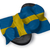 paragraph symbol and flag of sweden   3d rendering stock photo © drizzd