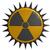 radioatividade · símbolo · branco · 3d · render · assinar · plástico - foto stock © drizzd