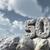 числа · пятьдесят · рок · облачный · Blue · Sky · 3d · иллюстрации - Сток-фото © drizzd