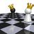 xadrez · preto · e · branco · outro · peças · de · xadrez · preto · poder - foto stock © drizzd