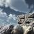 numara · otuz · beş · kaya · bulutlu · mavi · gökyüzü - stok fotoğraf © drizzd