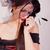 черный · вдова · горе · портрет · красный · платье - Сток-фото © dukibu
